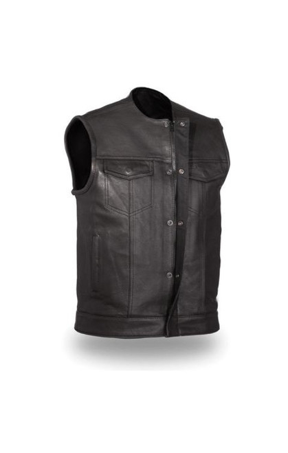 THE NO RIVAL LEATHER VEST