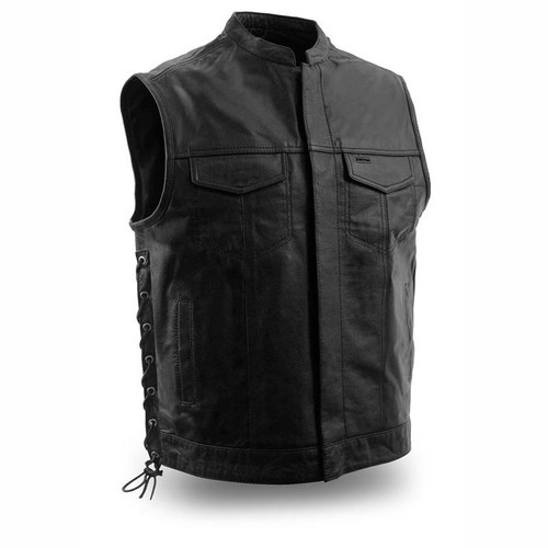 THE SNIPER LEATHER VEST