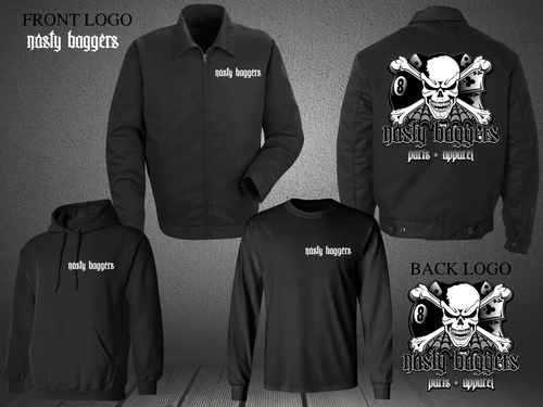 COLD WEATHER TRIPLE PACKS (Nasty Baggers Black Skull Edition)