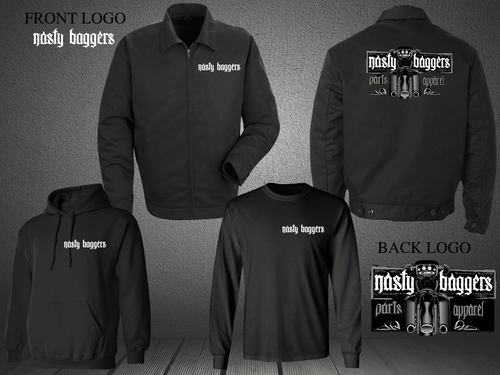 COLD WEATHER TRIPLE PACKS (Nasty Baggers Black Bike Edition)