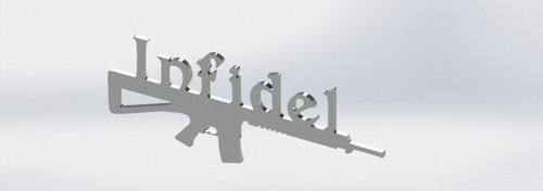 Infidel Fender Emblems
