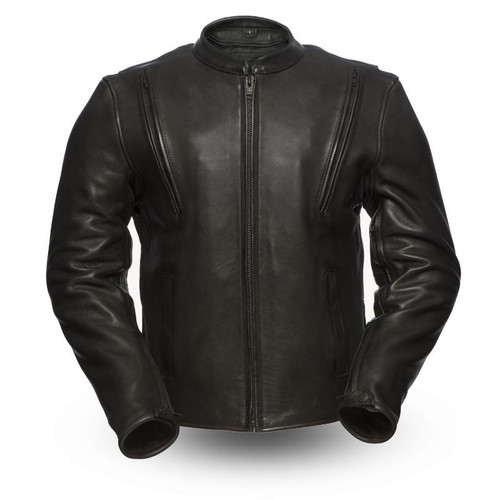 REVOLT LEATHER JACKET