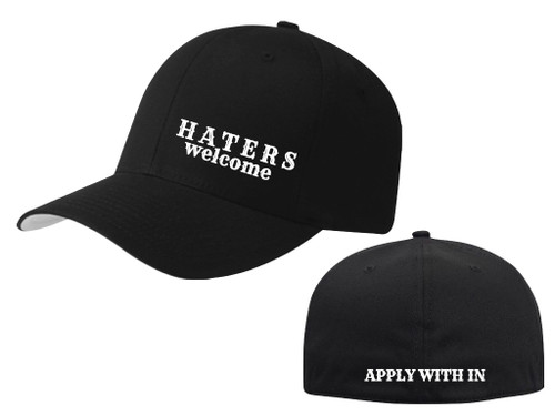 HATERS WELCOME HAT