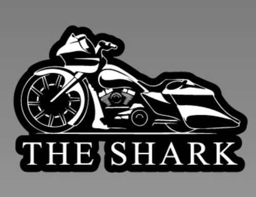 THE SHARK DECAL