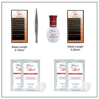 Eyelash Extension Kits for Beginner Eyelash Extension