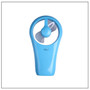 Mini Fan Blue USB Cable with FREE Sony 4xAA Batteries - Welcome To Lash Supplies -2