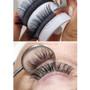 Single Volume D Curl 9mm to 16mm Premium Mink Eyelash Extension Tray-2