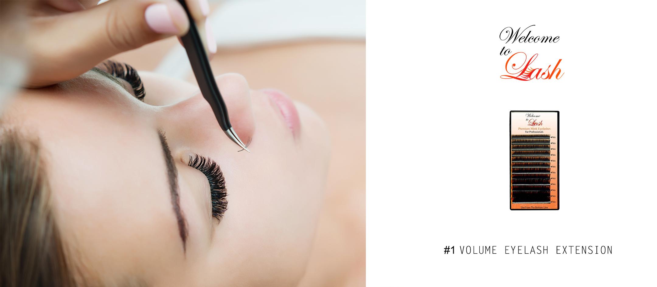 individual volume lashes