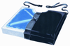 "Gel-Foam 16"" X Cushion, w/Coccyx Cutout w/LSI Cover"