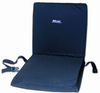 "Wheelchair 16"" Backrest Seat Combo w/Foam Seat Cushion"
