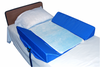 Bed Support System w/Attached 30-Degree Bolsters & Pad
