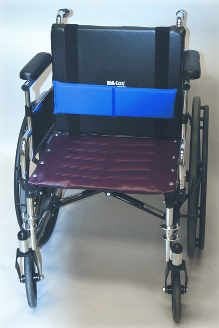 Lateral/Lumbar Support w/Gel Pads & Vinyl Cover