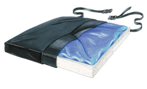 """Gel-Foam 20"""" X-Cushion, w/Coccyx Cutout w/LSI Cover"""