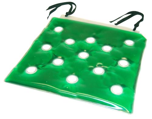 "Gel-Lift 16"" Cushion w/Safety Ties - Green"