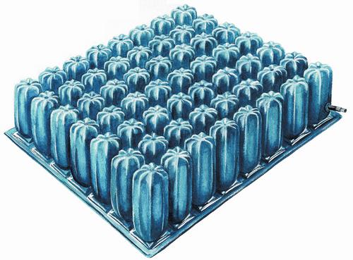 """Cushion Air 16"""" w/LSII Cvr, 4"""" Cell      *HCPCS # K0108"""