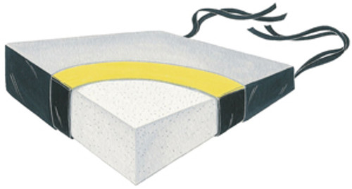 """Wedge Foam Soft Foundation 18"""" Two Color Vinyl Cushion w/LSII Cover, 4x2"""""""