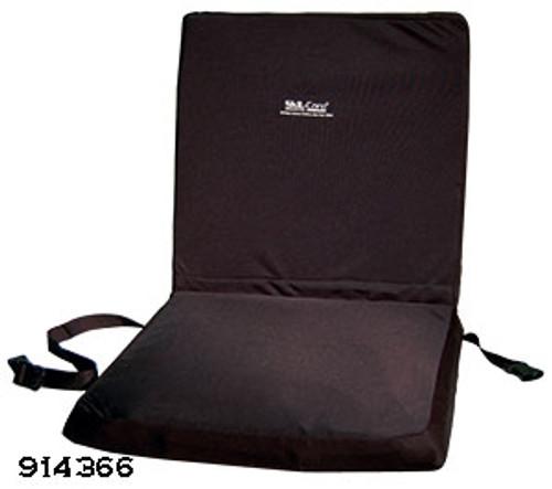 """Wheelchair 18"""" Backrest Seat Combo w/Foam Seat Cushion"""