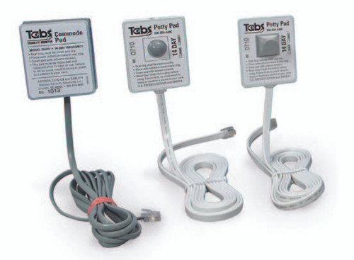Tabs Commode Pad
