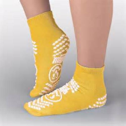 XX-Large, Yellow, Anti-Skid Socks