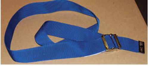 Econo Gait Belt, Blue w/Metal Buckle
