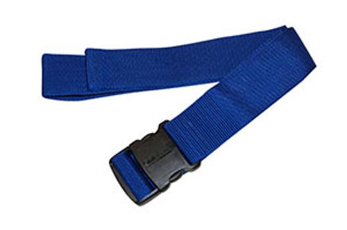 Econo Gait Belt, Orange w/Delrin Buckle