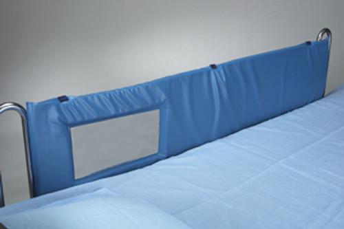 "Thru-View Vinyl Bed Rail Pads, 60""L - Large Window"
