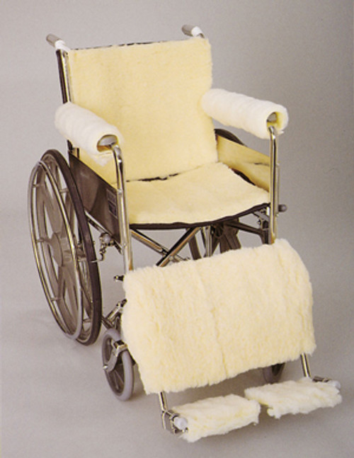 Wheelchair Sheepskin Seat/Backrest Pads