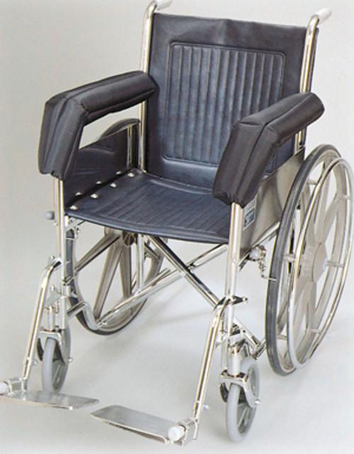 Wheelchair Foam Padded Nylon Extended Full Armrest Pads