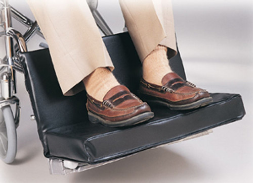 """Two-Piece 18-20"""" Footrest Extender, w/2"""" Foot Pad"""