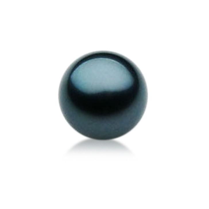 TL001 (AAA 10mm Tahitian Black pearl Loose Pearl )$499