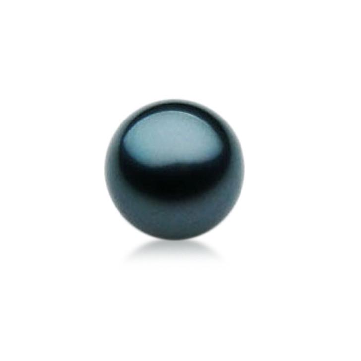 TL007 (AAA 13mm Tahitian Black pearl Loose Pearl )$1,399