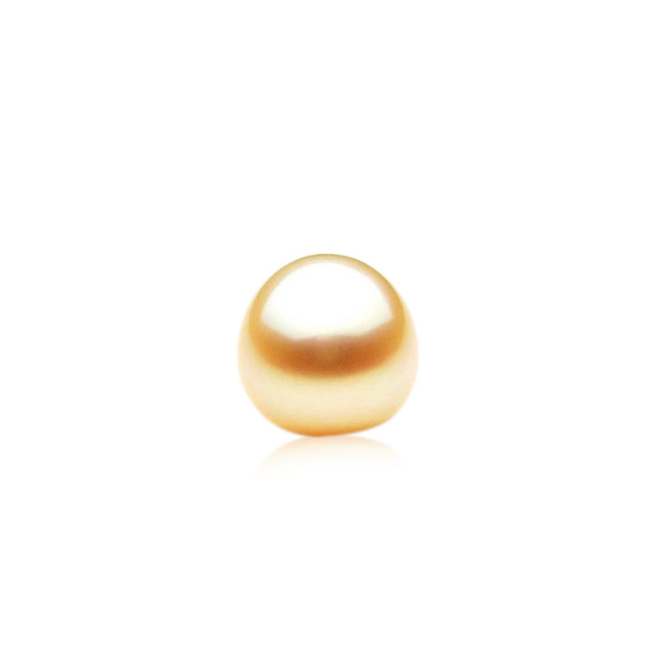 GL011 (AA+ 14 mm Australian Golden South Sea Pearl Loose pearl)$999