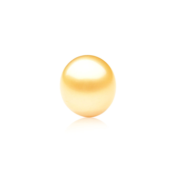GL013 (AA+ 14.5 mm Australian Golden South Sea Pearl Loose pearl)$999