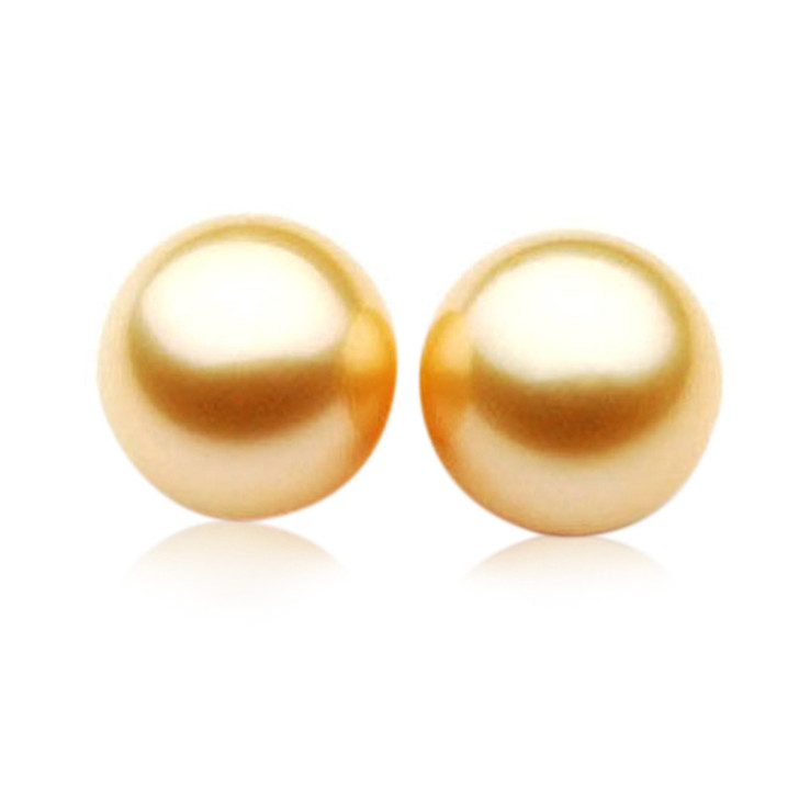 GL008 (AAA 14mm Australian South Sea Pearl Loose pearls Pair )$5,199