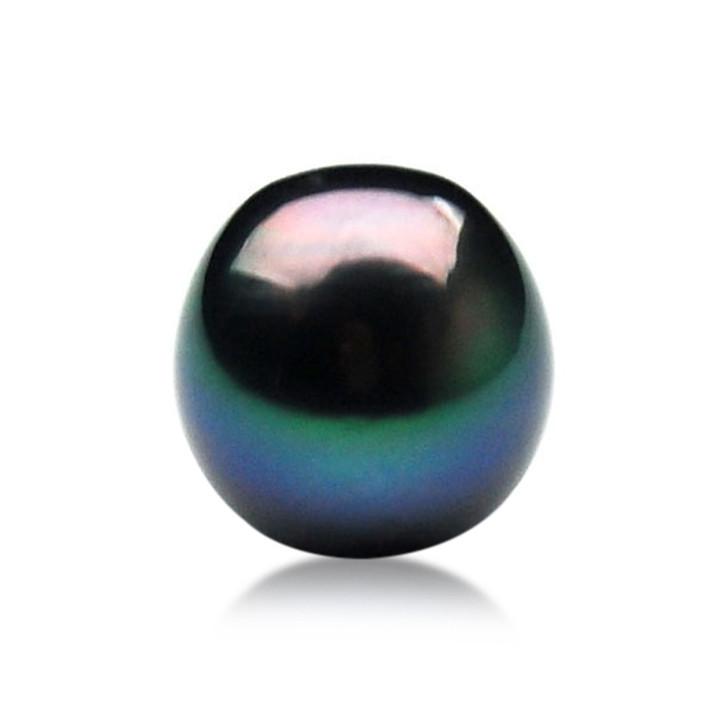 TL012 (AA+ 11.3mm Tahitian Black pearl Loose Pearl )$429