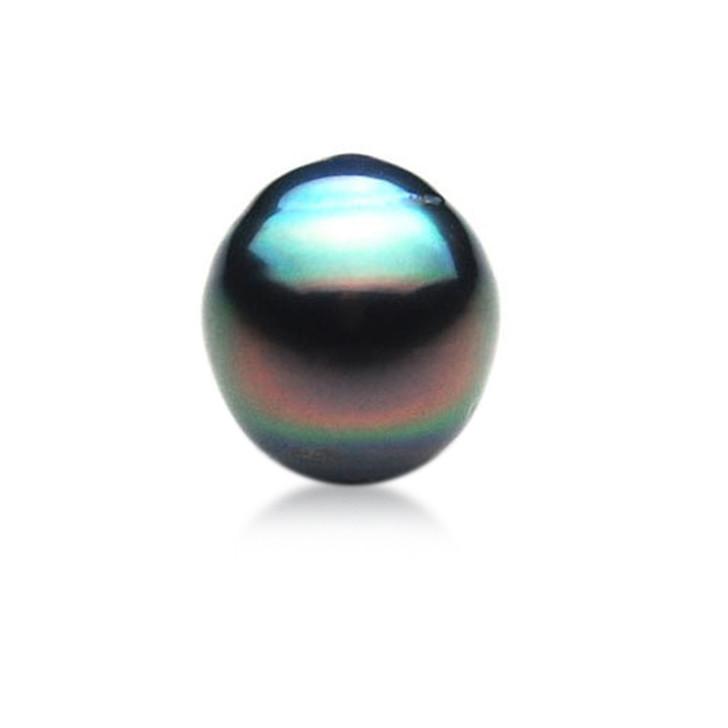 TL028 (AA 11 mm Tahitian Black pearl Loose Pearl )$299