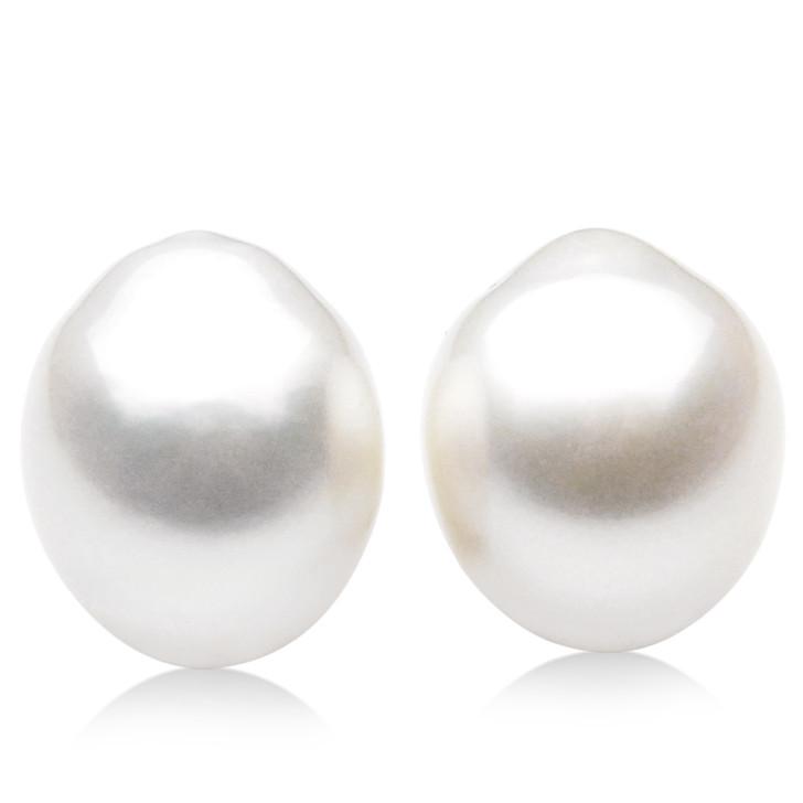 SL027 (AA+ 16mm Australian South Sea Pearl  Loose Pearls Pair ) $2,399