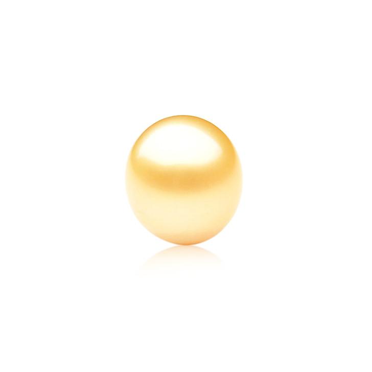 GL013 (AA+ 13.8mm Australian Golden South Sea Pearl Loose pearl)$959