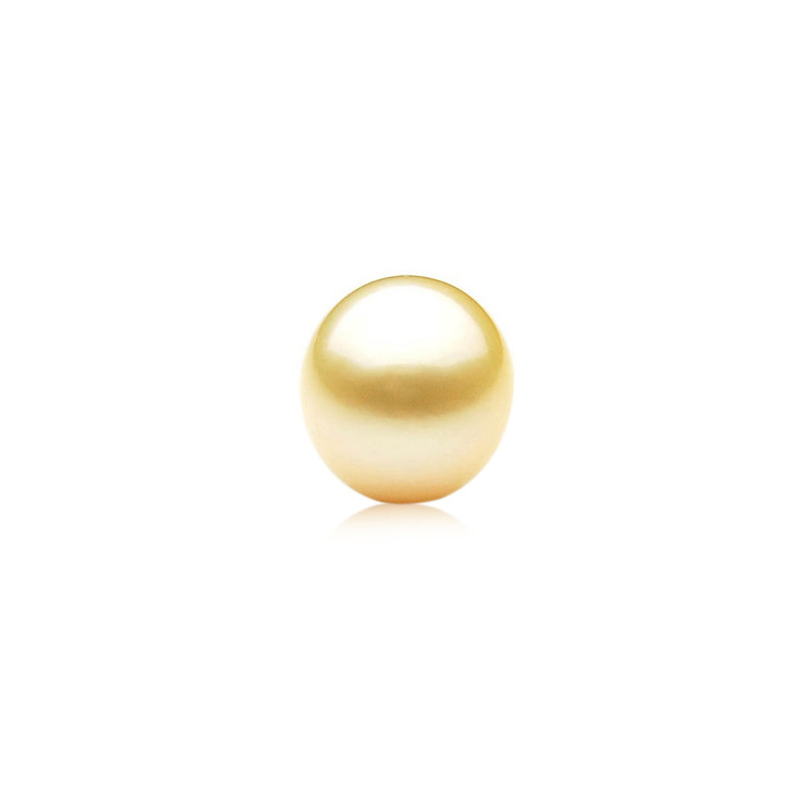 GL014 (AA+ 13.8mm Australian Golden South Sea Pearl Loose pearl)$959