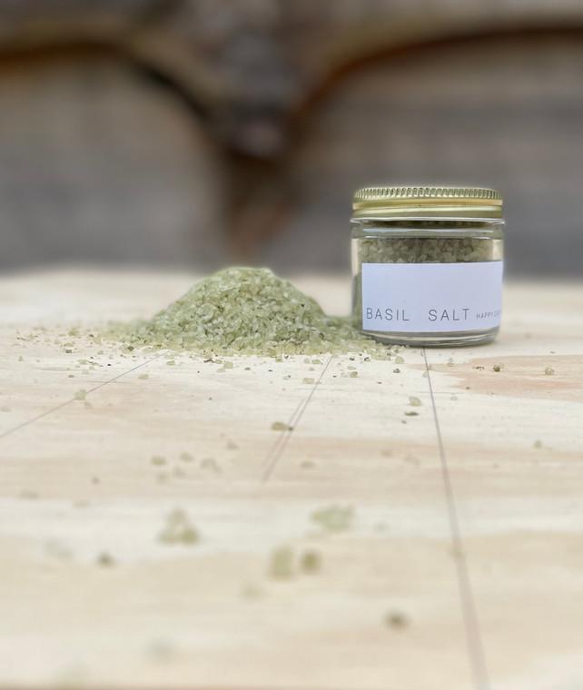 Basil salt