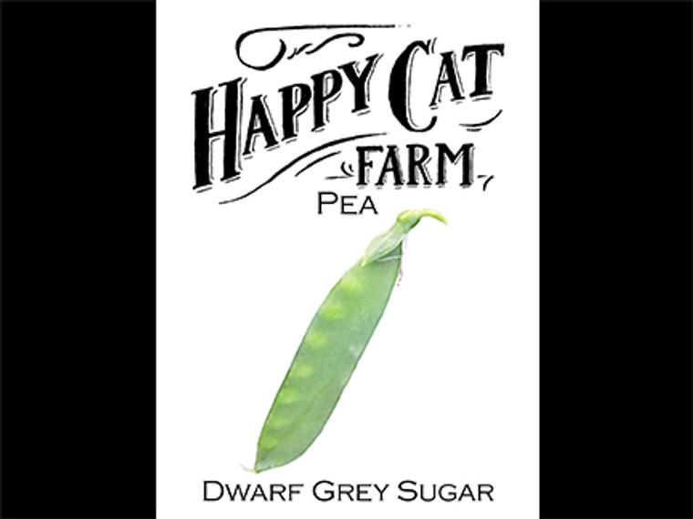 Dwarf Grey Sugar Pea