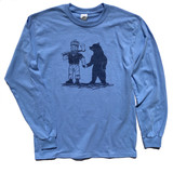 JACK & BEAR Denim Blue LS