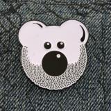 Beardy Bear Enamel Pin