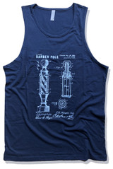 Barber Pole Patent Art Tank