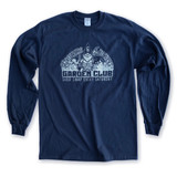 Garden Club Long Sleeve Navy Blue T