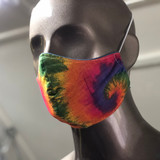Bandana Face Masks Rainbow Tie Dye