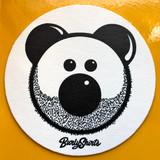 Beardy Bear Coaster Set