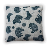 Checker Design Balsam Fir Pillow