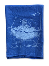 Rub A Dub Dub Kitchen Towel