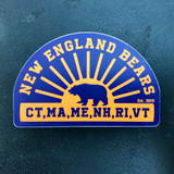 New England Bears Sticker